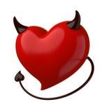 Doorslaggevende liefde. royalty-vrije illustratie