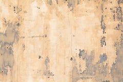 Doorstaan geschilderd hout stock fotografie