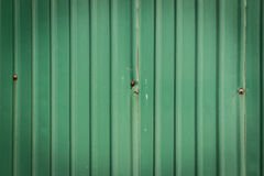 Doorstaan groen zink Royalty-vrije Stock Fotografie