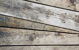 Doorstaan hoekig hout royalty-vrije stock foto