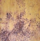 Doorstaan Rusty Metal Grunge Texture Royalty-vrije Stock Afbeelding
