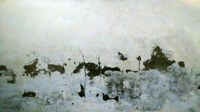 Doorstane bakstenen muur Royalty-vrije Stock Afbeelding
