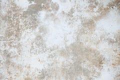 Doorstane concrete muur Royalty-vrije Stock Fotografie