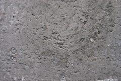 Doorstane concrete muur Stock Foto's