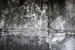 Doorstane concrete muurtextuur Stock Foto's