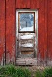 Doorstane deur Stock Afbeelding