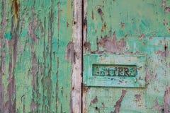 Doorstane deur Stock Afbeeldingen