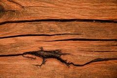 Doorstane houten korrel stock afbeelding