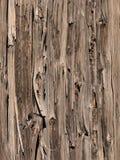 Doorstane houten omheining Royalty-vrije Stock Foto's