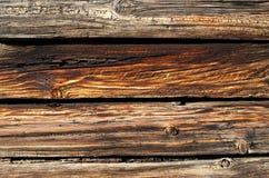 Doorstane Houten Planken Stock Fotografie