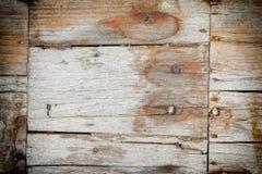 Doorstane houten plankentextuur Stock Afbeelding