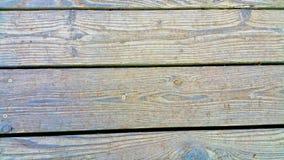 Doorstane houten raad royalty-vrije stock foto's