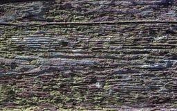 Doorstane houten textuur Stock Foto