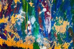 Doorstane kleurrijke achtergrond Royalty-vrije Stock Afbeelding