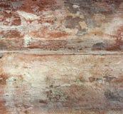 Doorstane muur Stock Foto