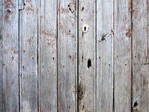 Doorstane oude grijze houten textuur Stock Afbeeldingen