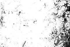 Doorstane textuur met natuurlijke gruis en korrel Zwarte vlekken op transparante achtergrond stock illustratie