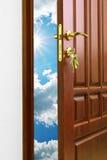 Doorway. Element of conceptual design Stock Images