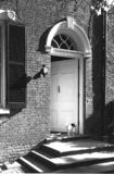 Doorway. A Federal period doorway in Georgetown, Washington, D.C Royalty Free Stock Photos
