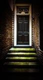 Doorway. A doorway in an alley Royalty Free Stock Photos