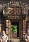 Doorway at angkor wat Royalty Free Stock Image