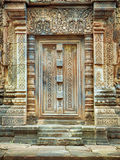 Doorway at Angkor Wat- Cambodia royalty free stock photo