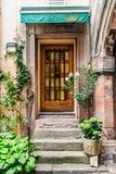 Doorway of a Beautiful Old House Royalty Free Stock Photo