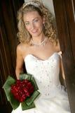Doorway Bride Royalty Free Stock Images