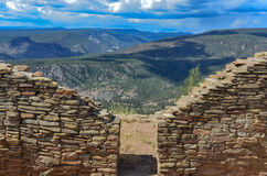 Doorway - Chimney Rock National Monument - Colorado Royalty Free Stock Photography