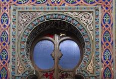 Doorway close up in the Sammezzano castle Royalty Free Stock Photo