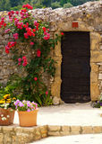 A Doorway in France Royalty Free Stock Photos