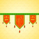 Doorway hanging for Indian traditional decoration Royalty Free Stock Images