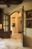 doorway kitchen royaltyfri foto