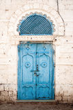 Doorway in massawa eritrea ottoman influence Royalty Free Stock Images