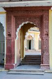 Doorway of Mehrangarh Fort, Jodhpur, Rajasthan Royalty Free Stock Image