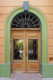 Doorway of Mexican residence Royalty Free Stock Image