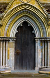 Doorway at an old cathedral, UK Stock Images