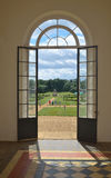 Doorway in Orangery Wrest park Stock Images