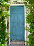 Doorway at the Palacio de Viana in Cordoba, Spain Stock Photo