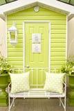 Doorway and Patio Furniture Stock Image