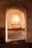 Doorway perspective Stock Photos