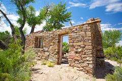 Doorway of Pioneer Settlement Royalty Free Stock Photo