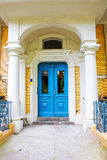 Doorway of an Restored Residential House in Berlin Stock Image