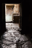 Doorway at the Roman Baths, Bath, UK Royalty Free Stock Photos