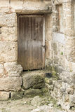 Doorway in Ruins in the old town of Rhodes Royalty Free Stock Photography