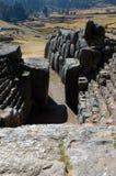 Doorway in Sacsayhuaman Ruins Stock Image