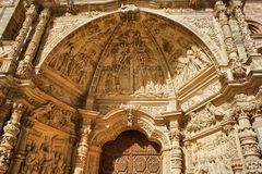 Doorway of Saint Mary Cathedal Royalty Free Stock Image