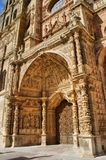 Doorway of Saint Mary Cathedal Royalty Free Stock Photo