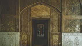 Doorway. Shows an ancient doorway of a mosque which shows tradition, culture Royalty Free Stock Image