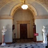 Doorway. A doorway in a stately home Royalty Free Stock Image